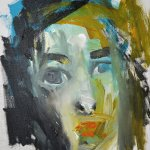 akryl na plátně,formát-30*40cm