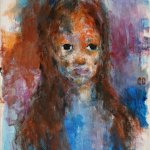 akryl na plátně,formát-24*30cm, soukromá sbírka