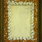 asambláž na kartonu,formát-51*39,5cm,nedochováno