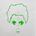 tempera na papíře,formát A1, soukromá sbírka