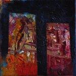 akryl na plátně, formát-20*20cm