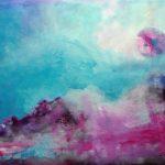 akryl na nepodrámovaném plátně, formát - 45*60cm